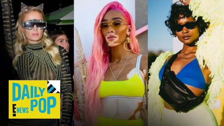 2019 Coachella Celebrity Fashion Trends | Daily Pop | E! News
