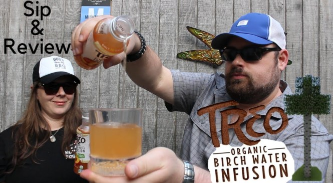 Treo Birch Water Peach & Mango Review   Sip & Review Beverage #4