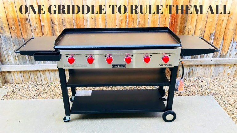 Camp Chef flat top grill FTG900 Product Review