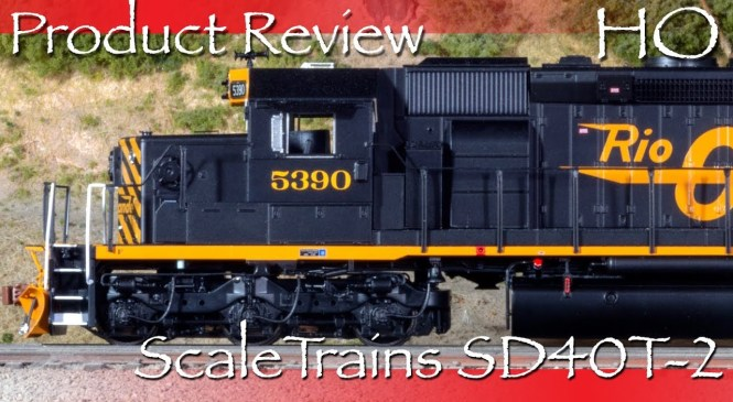Product Review HO ScaleTrains SD40T-2 Tunnel Motor DRGW