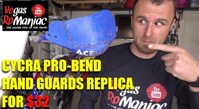 Cycra PRO bend hanguards – Chinese replica for $32 – Product review and installation