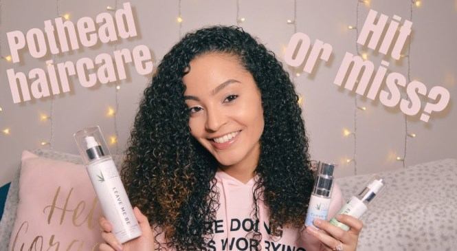 Pothead Haircare Product Review | Simone Patrice