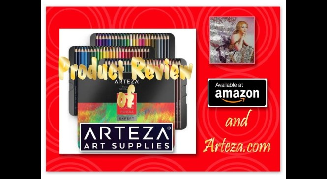 All These Beautiful Colors!!! – Product Review – Arteza Art Supplies