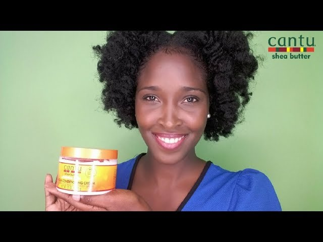 CANTU LEAVE IN CONDITIONING CREAM FOR NATURAL HAIR    PRODUCT REVIEW