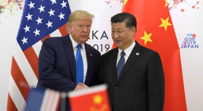 Trump Says He'll Relax Sanctions on Huawei as Part of Trade Talks With China