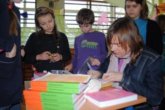 Spotkanie w Szkole Podstawowej w Bolimowie