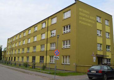 Termomodernizacja internatu przy ZSZ w Pisz