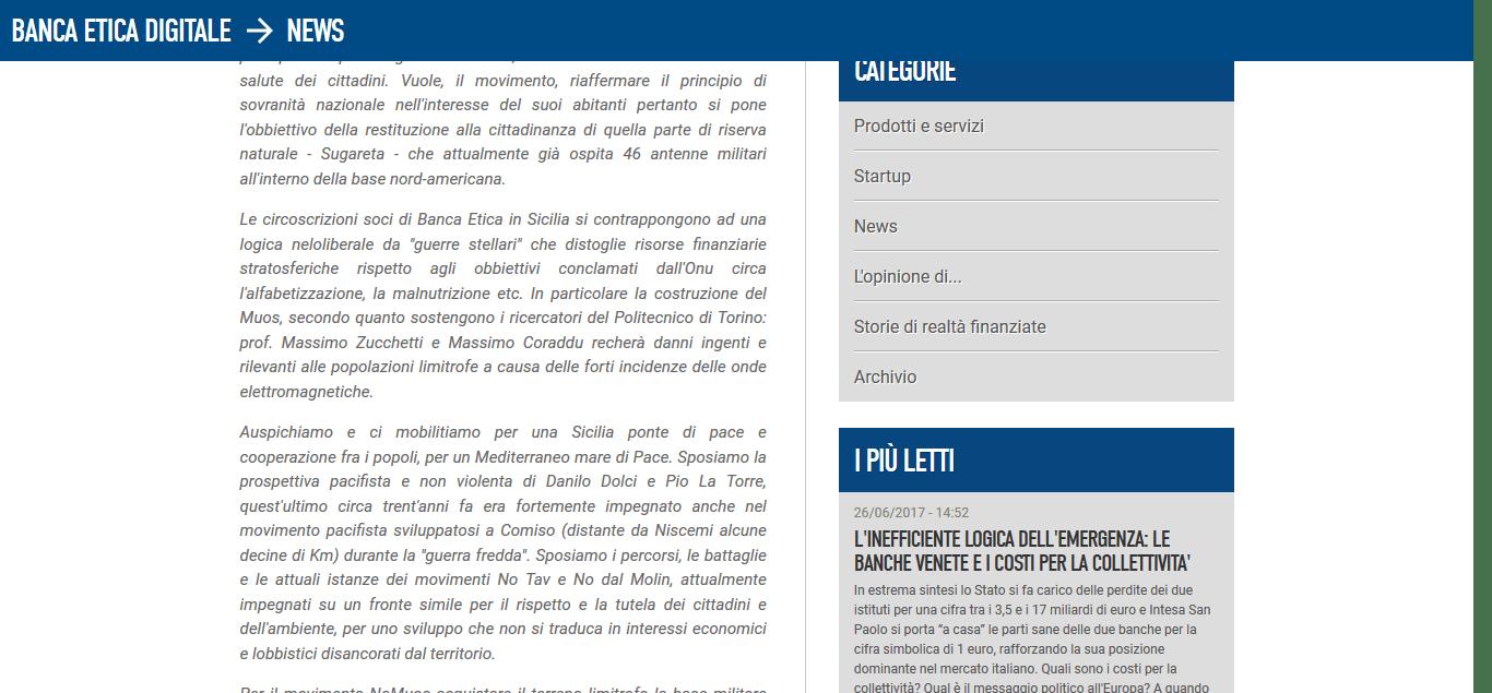 Antenne MOUS in Sicilia, la proposta dei nostri soci – Banca Popolare Etica 23-9-2017, 21-04-11