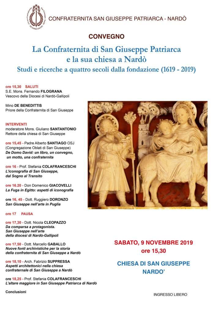 La Confraternita di San Giuseppe Patriarca e la sua chiesa a Nardò