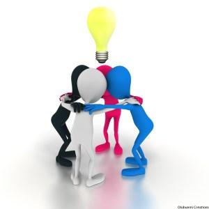 Brainstorming together