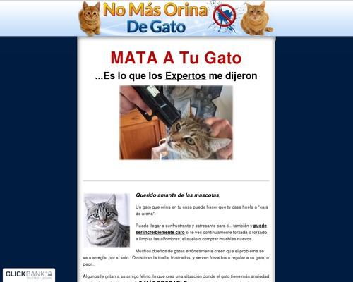 No Mas Orina De Gato – Como hacer que tu gatos deje de orinar fuera de su cajita!