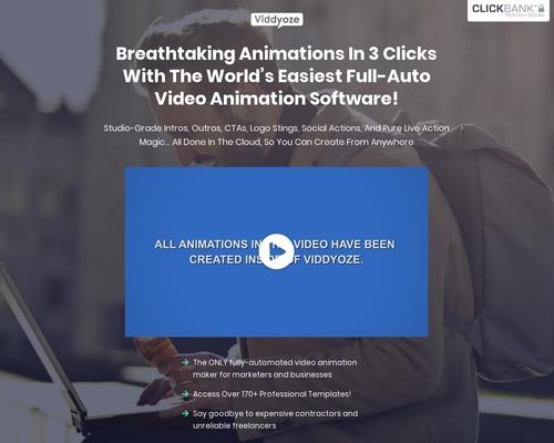 3D Animation and Video Software | Viddyoze