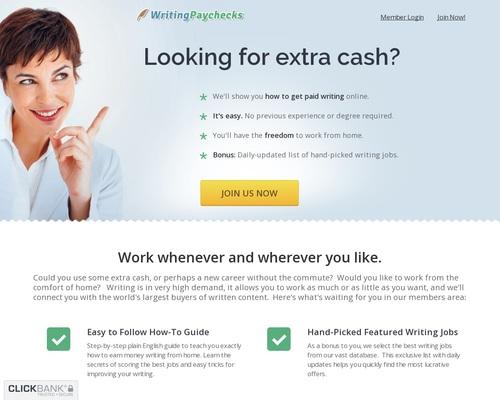 WritingPaychecks.com – Freelance Writing Jobs