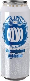Olvin Suomalainen Juhlaolut oli tuotannossa vuonna 2009.