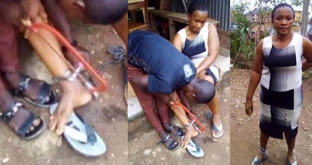 Woman Chained to a Pillar For 10 Hours By Her Abusive Husband in ...