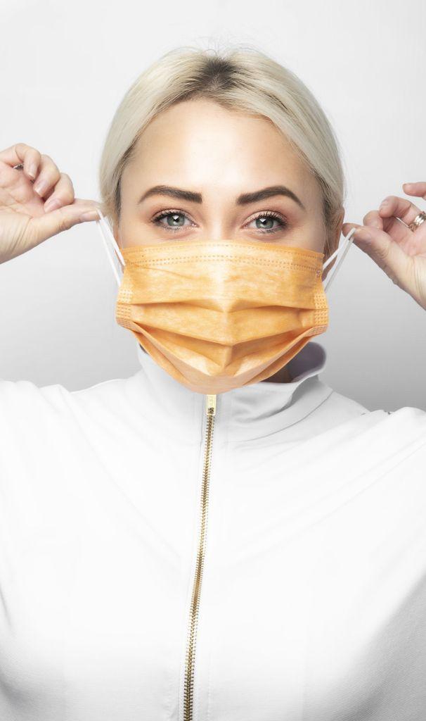 , AntiViral Copper Oxide Medical Mask