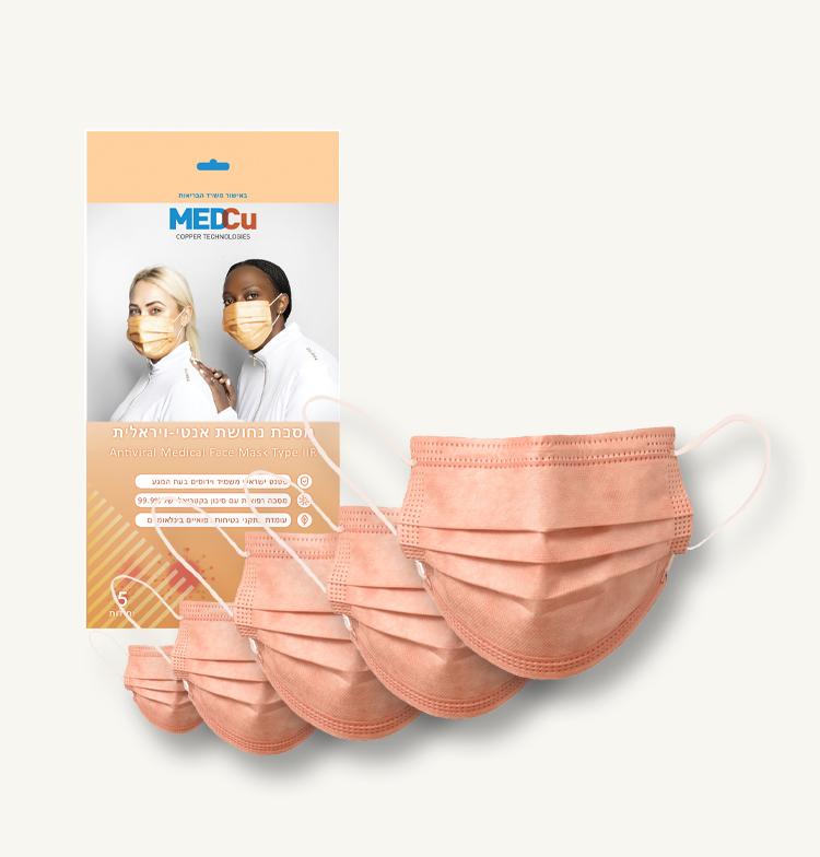 Copper Oxide Medical Facemask