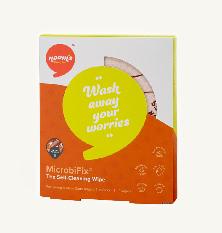 Antibacterial Self-Cleaning Wipes For Every Surface