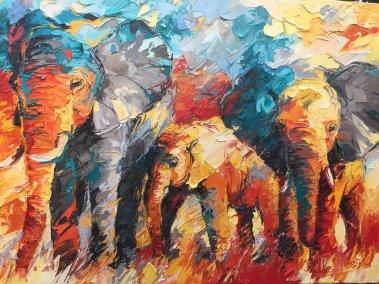 olifanten 90x120