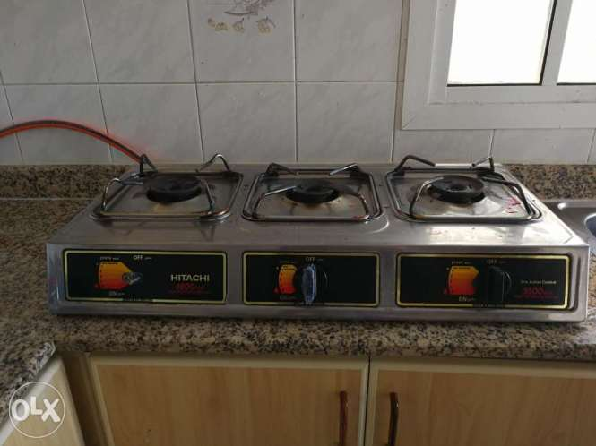 Singer Double Burner Gas Cooker Table Top 01