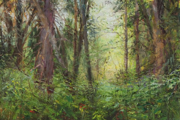 """""""And They Call This Home"""" (oil on linen panel), Kathy Gore-Fuss"""