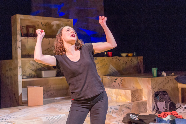 Kira Batcheller in My Name Is Rachel Corrie