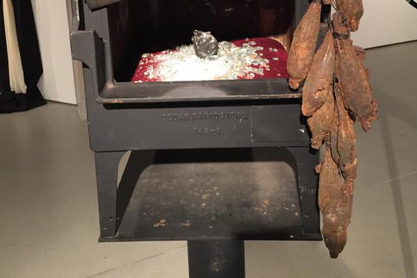 """Simple Machine,"" sculpture by Alair Wells, photo by Gabi Clayton"