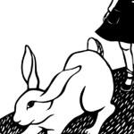 Alice in Wonderland, illustration by Nikki McClure