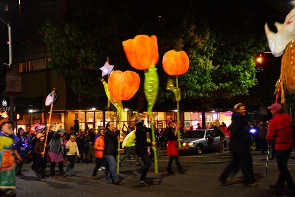 Luminary Procession, photo by Richard E Swanson