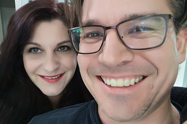 Heather and Michael Christopher