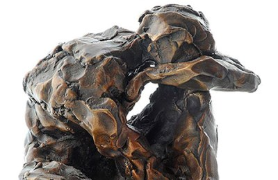 bronze sculpture by Sophie Stimson