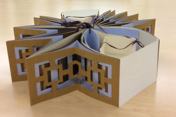 book art by Shereen LaPlantz