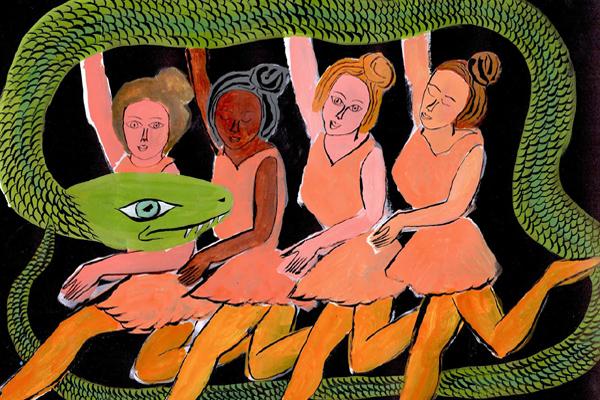"""Dragon Ballet"" by Arrington DeDionyso"