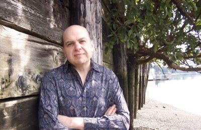 Author/playwright Christian Carvajal