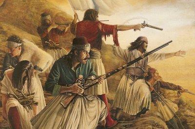 ΤΣΕΚΟΥΡΙ και Φωτιά στους Τούρκους απ'τον Γενναίο Κολοκοτρώνη και τον Δημήτριο Πλαπούτα σαν σήμερα 26 Φεβρουαρίου 1822