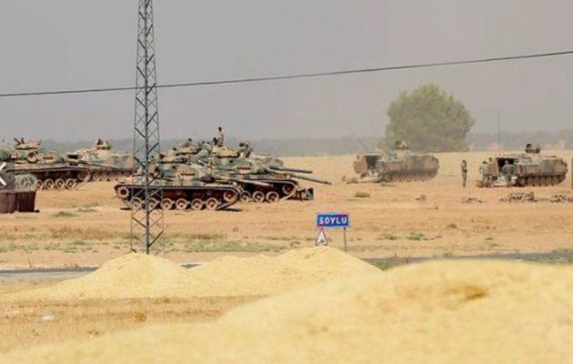 Ξεκίνησε η εισβολή της Τουρκίας στη Συρία – Μάχη για την Τζαραμπλούς