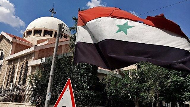 Βομβάρδισαν κατά Ορθόδοξης Εκλησίας τα σκυλιά του Ερντογάν και της Χιλαρι στο Χαλέπι! RIA Novosti