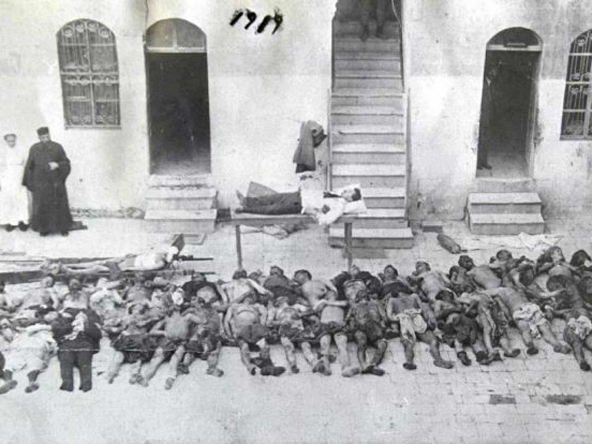 Γενοκτονία των Αρμενίων Άλλη μια κτηνωδία των Τούρκων