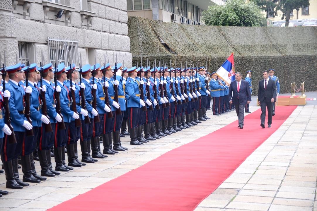 ΕΛΛΑΣ-ΣΕΡΒΙΑ ΣΥΜΜΑΧΙΑ-Επίσημη επίσκεψη ΥΕΘΑ Πάνου Καμμένου στο Βελιγράδι