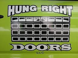 Hung Right Doors Logo