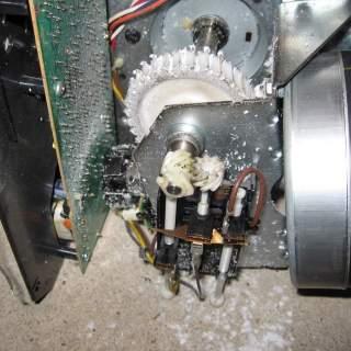 plastic drive gears stripping out of garage door -HungRightDoorsllc.com