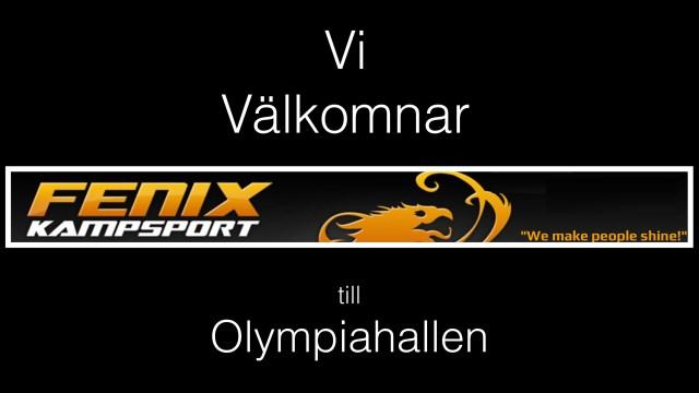 Vi välkomnar Fenix Kampsportsförening som ny hyresgäst och partner till Olympiahallen!