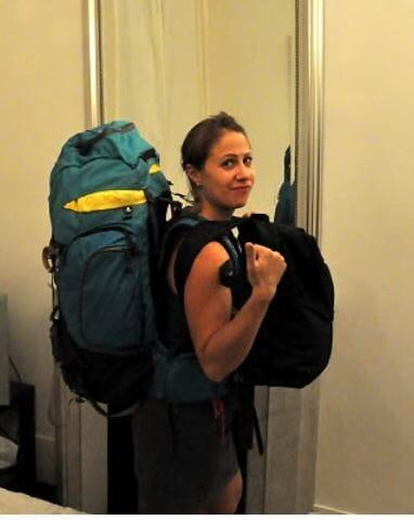sac a dos depart tour du monde olympia