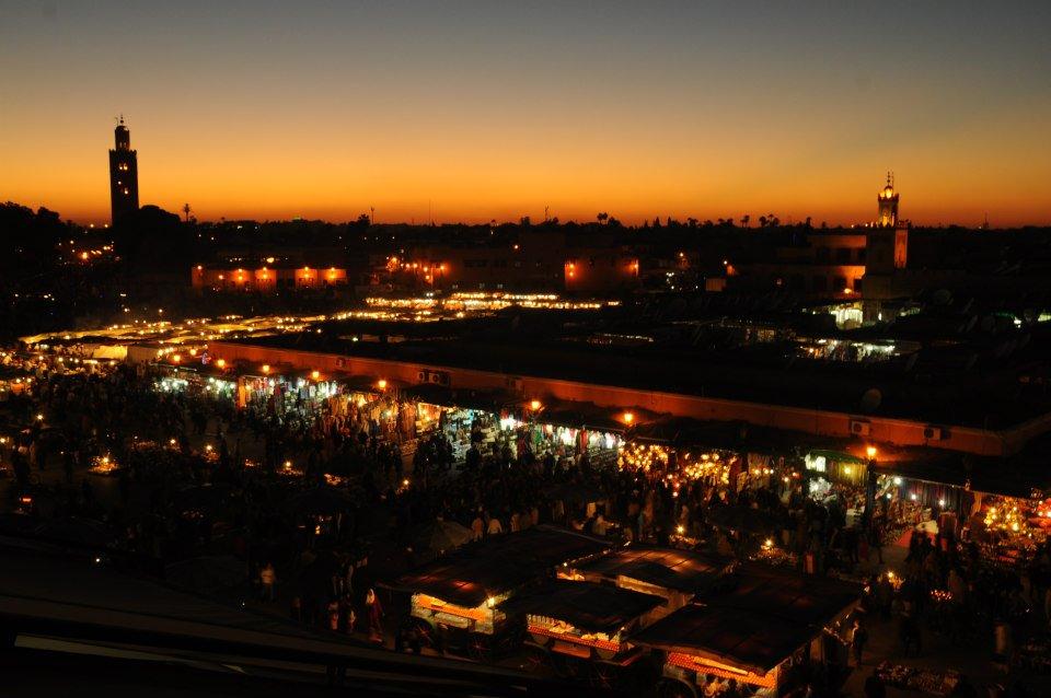 Marrakech, Maroc, Jemma El Fna
