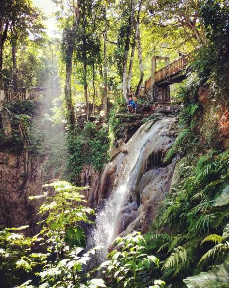 Saltadero de Cabrera dominicaine cascade