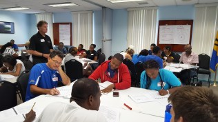 NCCCP Level 1 Coaching Course Was Held May 27-29 at the Olympic Centre