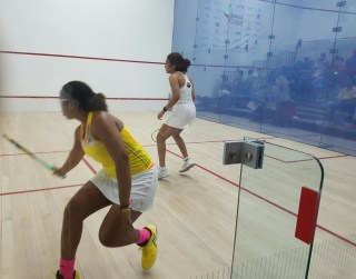 Meagan Best, caused a spectacular upset on Day 2 of the 2016 Caribbean Senior Squash Championships being