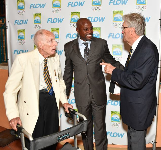 Carl Lewis In Conversation with CAC Sailing duo Bill & Tony Hoad.