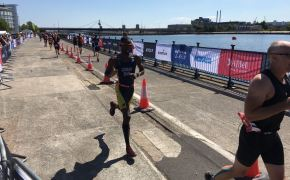 Barbados represented at world's largest triathlon