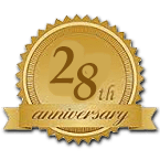 Celebrating our 28th year in business
